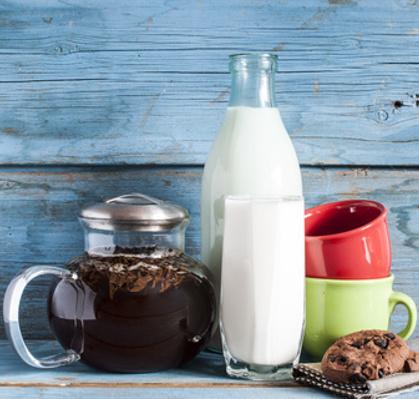 How to make tea milk