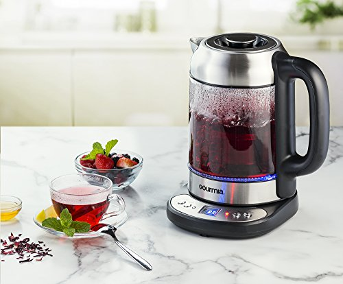 gourmia gdk290 glass electric tea kettle review what kettle. Black Bedroom Furniture Sets. Home Design Ideas