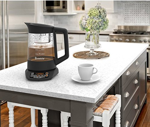Brewista Smart Brew Automatic Tea Kettle Review What