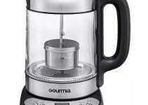 Gourmia GDK290 Glass Electric Tea Kettle